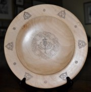 phoca_thumb_l_london plane platter with pyrography 240mm