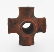 Rusty pipe in Sycamore by Nick Simpson Woodturner